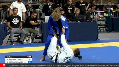 Bianca Basilio vs Gabrielle McComb , Featherweight Final, 2021 IBJJF Pan Championship