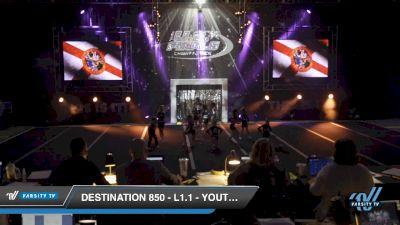 Destination 850 - L1.1 - Youth PREP - D2 [2019 Rio 10:52 AM] 2019 US Finals Pensacola