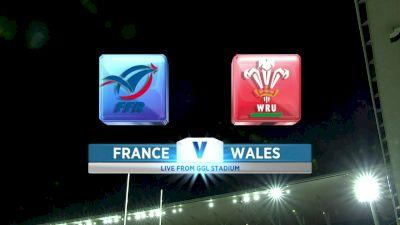2019 Women's Six Nations: France vs Wales