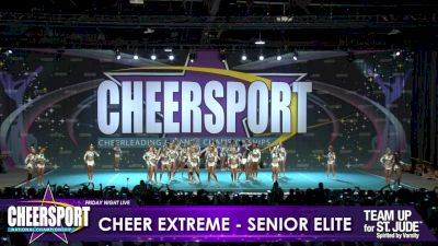 Cheer Extreme - Kernersville - Senior Elite [2019 Large Senior 5 Day 1] CHEERSPORT Nationals: Friday Night Live