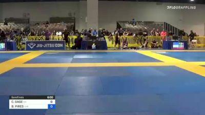 CELESTE GAGE vs SALUA BORGES 2021 American National IBJJF Jiu-Jitsu Championship