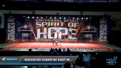 Rockstar Cheer NC East NIRVANA [2021 CheerAbilities Day 1] 2021 Universal Spirit: Spirit of Hope National Championship