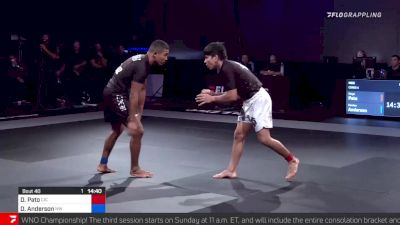 Diego Pato vs Damien Anderson Who's Number One Championship