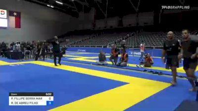 PEDRO FILLIPE SERRA MARINHO vs ROBERTO DE ABREU FILHO 2021 World IBJJF Jiu-Jitsu No-Gi Championship