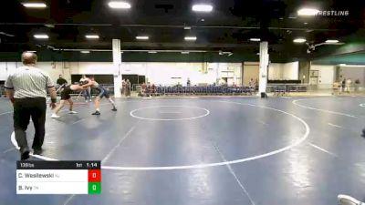 138 lbs Consolation - Cross Wasilewski, NJ vs Brayden Ivy, TN