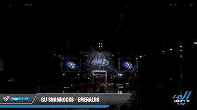 GU Shamrocks - Emeralds [2021 L3 Senior - Medium Day 2] 2021 The U.S. Finals: Louisville