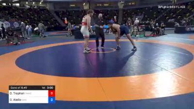 125 kg Consolation - Owen Trephan, TMWC/ Wolfpack Wrestling Club vs Darryl Aiello, Iowa