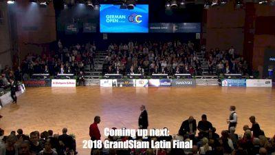 WDSF GrandSlam Latin Stuttgart FINALS