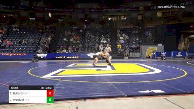 165 lbs Consolation - Thomas Bullard, NC State vs Jake Wentzel, Pittsburgh