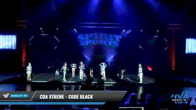 CDA Xtreme - Code Black [2021 L5 Senior Coed Day 2] 2021 Spirit Sports: Battle at the Beach