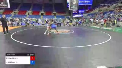 152 lbs Semifinal - Nick Hamilton, Nebraska vs Jordan Williams, Oklahoma