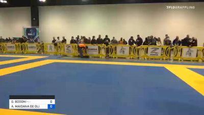 GIANCARLO BODONI vs ARNALDO MAIDANA DE OLIVEIRA 2020 IBJJF Pan No-Gi Championship
