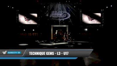 Technique Gems - L3 - U17 [2021 L3 - U17 Day 1] 2021 The U.S. Finals: Kansas City