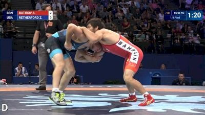 Adam Batirov (BRN) vs Zain Retherford (USA)