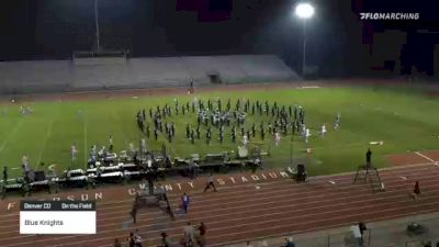 """Blue Knights """"Denver CO"""" at 2021 Drums Along the Rockies"""