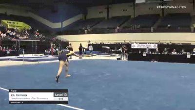 Kai Uemura - Floor, Lakeshore Academy of Art Gymnastics - 2021 USA Gymnastics Development Program National Championships