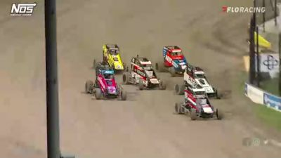 Heat Races | USAC Midgets Friday at Eldora Speedway