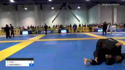 ZACHARY KAIMA'ALI-KO vs JIBRIL ABDRABBOH 2021 American National IBJJF Jiu-Jitsu Championship