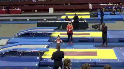 Logan  Villalobos  - Double Mini Trampoline, World Champions Centre  - 2021 Region 3 T&T Championships