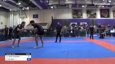 ASHUR SAMI DARMO vs SEBASTIAN BLACK 2019 Pan IBJJF Jiu-Jitsu No-Gi Championship