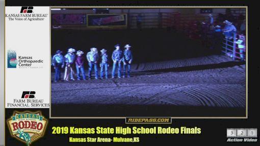 2019 Nhsra Kansas State Finals Ridepass Pro Rodeo Event