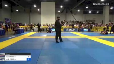 Richard Alarcon vs JoAO P P M S 2021 American National IBJJF Jiu-Jitsu Championship