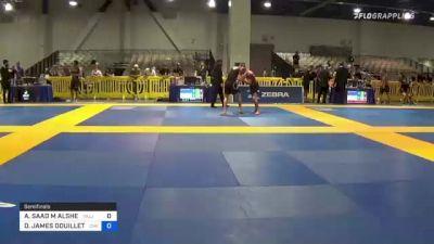 ABDULAZIZ SAAD M ALSHEHRI vs DAVID JAMES DOUILLETTE 2021 American National IBJJF Jiu-Jitsu Championship