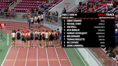 Men's 5k, Heat 4