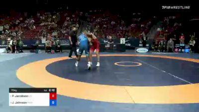 72 kg Con Semis - Payton Jacobson, Wisconsin vs Jamel Johnson, Marines