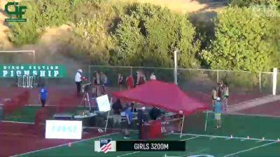 Girls' 3200m, Finals 1
