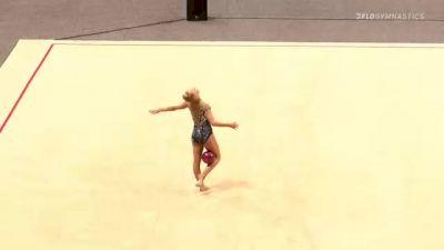 Victoria Kobelev - Ball, STLE - 2021 USA Gymnastics Championships