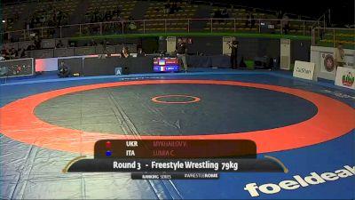 79 kg Vasyl Mykhailov, UKR vs Carmelo Lumia, ITA