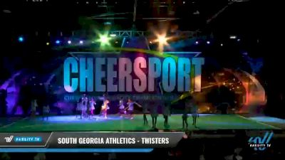 South Georgia Athletics - Twisters [2021 L5 Junior Coed - D2 Day 2] 2021 CHEERSPORT National Cheerleading Championship