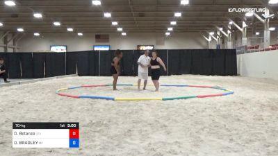 70 lbs Final - Diana Betanzo, Leviathan Wrestling Club vs DONELL BRADLEY, Morris Fitness