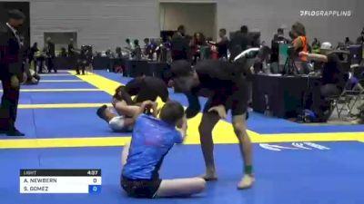 ASHTON NEWBERN vs STEVEN GOMEZ 2021 World IBJJF Jiu-Jitsu No-Gi Championship