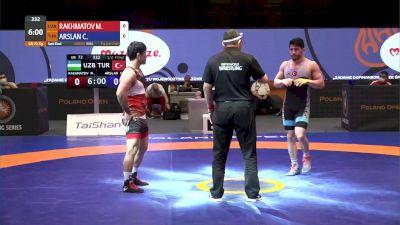 72kg Semi-Final - Cengiz Arslan, TUR vs Mirzobek Rakhmatov, UZB