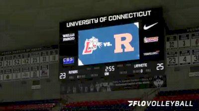 Replay: Lafayette vs Rutgers   Sep 4 @ 10 AM