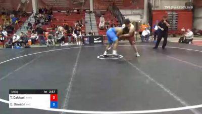 125 kg Prelims - Tony Caldwell, Kansas vs Devon Dawson, Beaver Wrestling Club