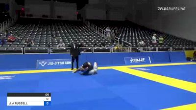 ALAN JESUS REYNEL PEREYRA vs JOSHUA A RUSSELL 2021 World IBJJF Jiu-Jitsu No-Gi Championship