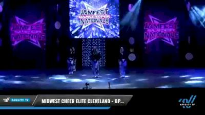 Midwest Cheer Elite Cleveland - Open Krew [2021 Open Coed Hip Hop Elite Day 2] 2021 JAMfest: Dance Super Nationals