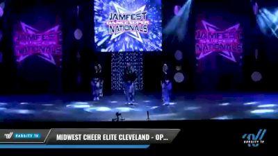 Midwest Cheer Elite Cleveland - Open Krew [2021 Open Coed Hip Hop Elite Day 2] 2021 JAMfest: Dance Super Nationals