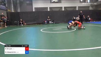 70 kg Prelims - Manzona Bryant, Lehigh Valley Wrestling Club vs Mitchell Mesenbrink, Askren Wrestling Academy Lake Country