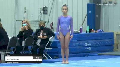 Audrey Snyder - Floor - 2021 American Classic and Hopes Classic