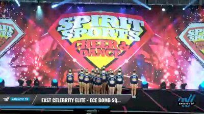 East Celebrity Elite - ECE Bomb Squad [2021 L6 Senior - XSmall Day 2] 2021 Spirit Sports: Battle at the Beach