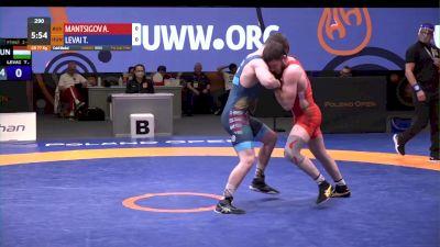 77 kg Final - Abuiazid Mantsigov, RUS vs Tamas Levai, HUN