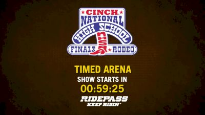 Full Replay - National High School Rodeo Association Finals: RidePass PRO - Timed Event - Jul 20, 2019 at 9:45 AM EDT
