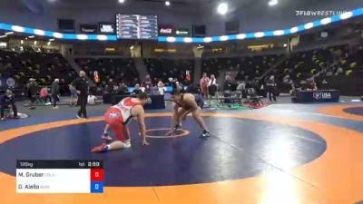 125 kg Prelims - Mitchell Gruber, Columbus Wrestling Club vs Darryl Aiello, Iowa