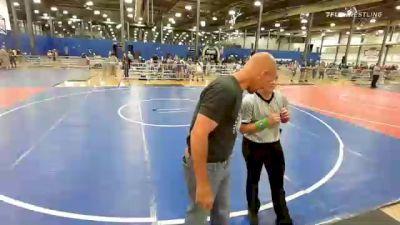 40 lbs 2nd Place - Emery Sanders, Rhyno Academy Of Wrestling vs Liam Gatt, Backyard Brawlers