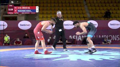 86 kg Semifinal - Hassan YAZDANI, IRI vs Mustafa U AL OBAI, IRQ