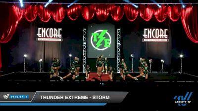 Thunder Extreme - STORM [2019 Senior - D2 - Medium 3 Day 2] 2019 Encore Championships Houston D1 D2
